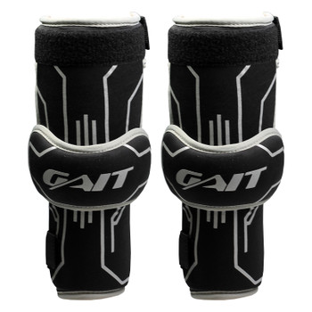 Gait Icon Senior Lacrosse Arm Guards - Black, Gray