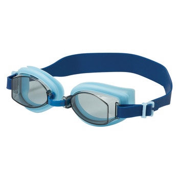 Leader Victory Adult Swimming Goggles - Smoke, Blue