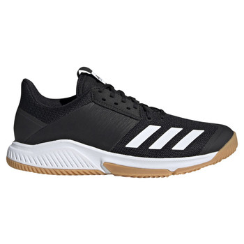 Adidas Crazyflight Team Women's Volleyball Shoes D97701 - Black, White, Gum