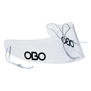 OBO GTP Field Hockey Goalie Throat Protector - Clear