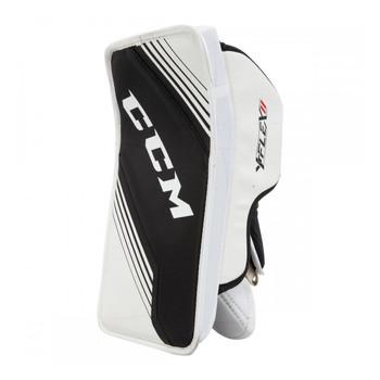 CCM YTFlex 2 Youth Hockey Goalie Blocker - White, Black