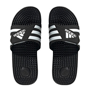 Adidas Adissage Unisex Slide Sandals F35580 - Black, White