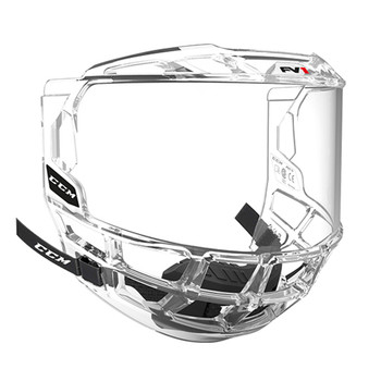 CCM FV1 Full-Face Hockey Helmet Visor - Clear