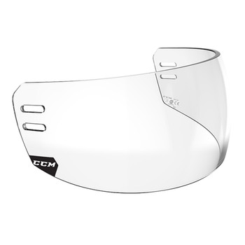 CCM VR14 Straight Hockey Helmet Visor - Clear