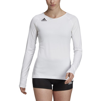 Adidas HILO Women's Long Sleeve Volley Jersey DX0888 - White