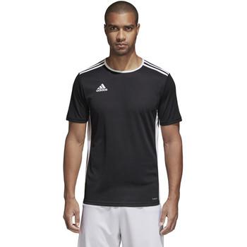 Adidas Entrada Adult Soccer Jersey CF1035 - Black, White