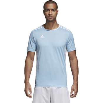 Adidas Entrada Adult Soccer Jersey CD8414 - Clear Blue, White