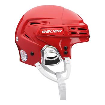 Bauer Re-AKT 75 Senior Hockey Helmet - Red
