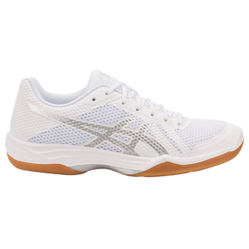 Asics Gel-Tactic 2 Women's Volleyball Shoes - White, Silver