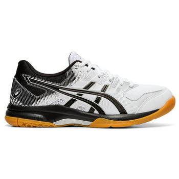 Asics Gel-Rocket Women's Volleyball Shoes - White, Black