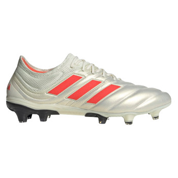 Adidas Copa 19.1 FG Men's Soccer Cleats BB9185 - White, Red, Black