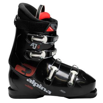 Alpina AJ4 Junior Ski Boots - Black