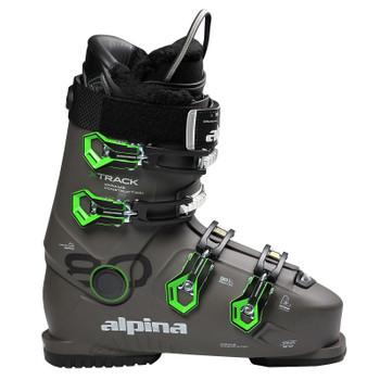 Alpina X-Track 80 Heated Men's Ski Boots - Anthracite