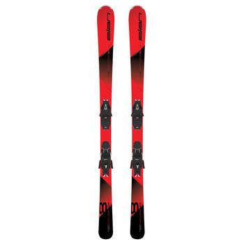 Elan Explore 8 LS Ski's with EL 10.0 Bindings - Red, Black