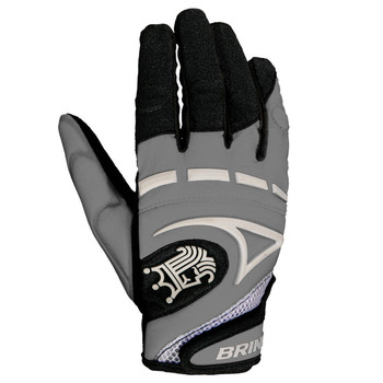 Brine Mantra Women's Lacrosse Gloves - Silver