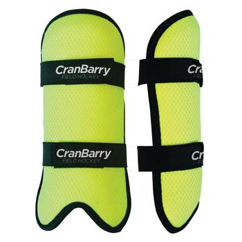 Cranbarry FIT Youth Field Hockey Shinguards - Neon Green