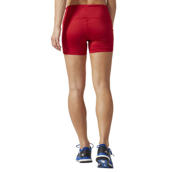 "Adidas 4"" Women's Volleyball Short Tights - Power Red"