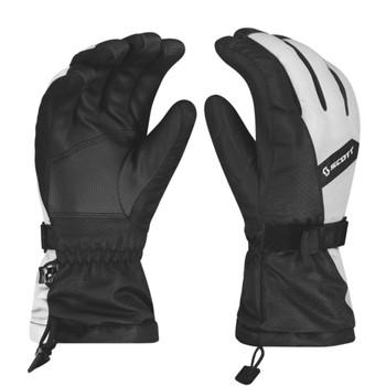 Scott Ultimate Warm Women's Ski Gloves - White, Black