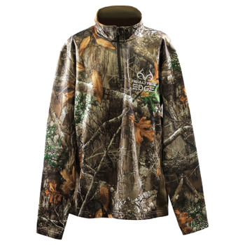 Pursuit Gear RealTree EDGE 1/4 Zip Pull-Over - Camouflage