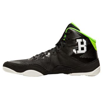 Asics JB Elite IV Men's Wrestling Shoes - Black, White