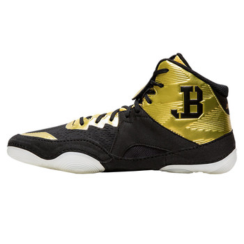 Asics JB Elite IV Men's Wrestling Shoes - Gold, Black