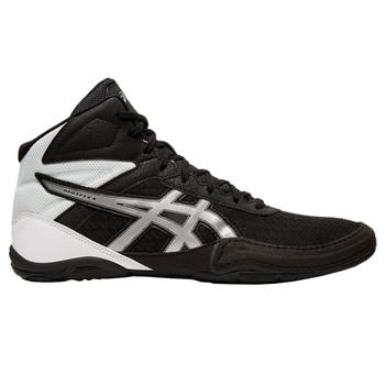 Asics Matflex 6 Men's Wrestling Shoes - Black, Silver