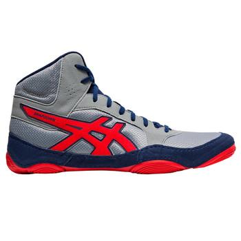 Asics Snapdown 2 Men's Wrestling Shoes - Grey, Red