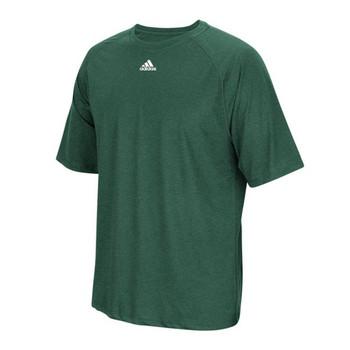 Adidas Climalite Short Sleeve Tee BF5711 - Dark Green Heather