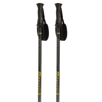 Whitewoods Maverick 6061 Alpine Ski Poles - Black, Yellow