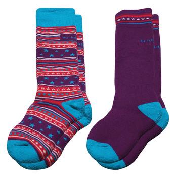 Bridgedale Merino Youth / Junior Ski Socks - 2 Pack