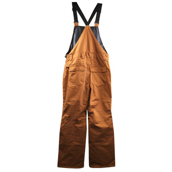 Pulse Men's Insulated Dungaree Coverall - Camel