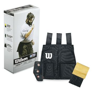 Wilson Baseball Umpire Gear Kit - Black