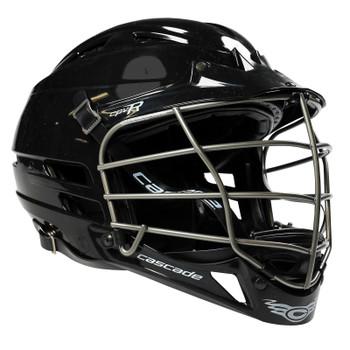 Cascade CPV-R Lacrosse Helmet - Black Shell, Silver Mask