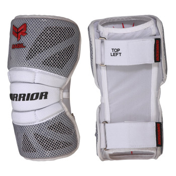 Warrior Rabil PC Adult Lacrosse Arm Pads - White