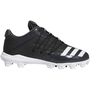 Adidas Afterburner 6 MD Youth Baseball Cleats DB3107 - Black, White, Carbon