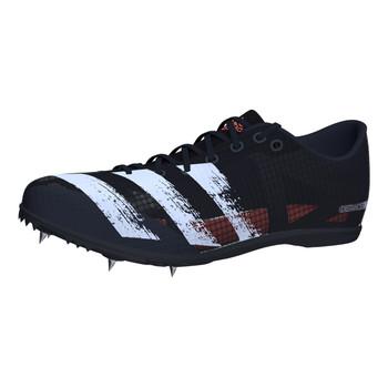 Adidas Distancestar Adult Track & Field Shoes EG1201 - Black, White, Coral
