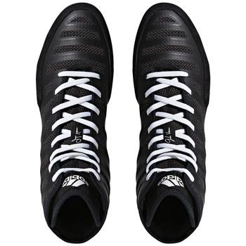 Adidas Adizero Varner Adult Wrestling Shoes BA8020 - Black, White