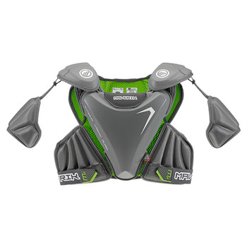 Maverik MX EKG Lacrosse Shoulder Pads - Grey