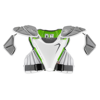 Maverik MAX EKG Lacrosse Shoulder Pads - White