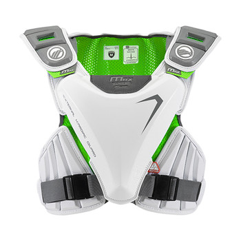 Maverik MAX EKG Speed Lacrosse Shoulder Pads - White