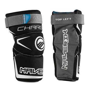 Maverik Charger Youth Lacrosse Arm Pads - Black