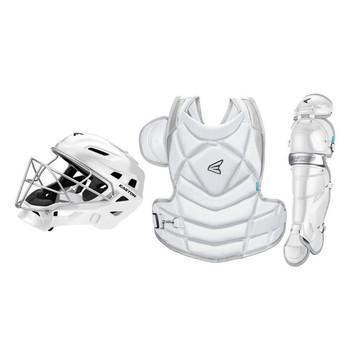 Easton The Fundamental Jen Schro Fastpitch Catchers Set - White, Silver
