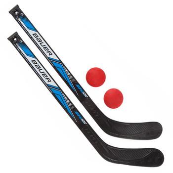Bauer Hockey Mini Sticks & Balls Set