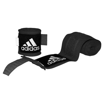 Adidas Low Stretch 2.55m Boxing Hand Wraps - Black