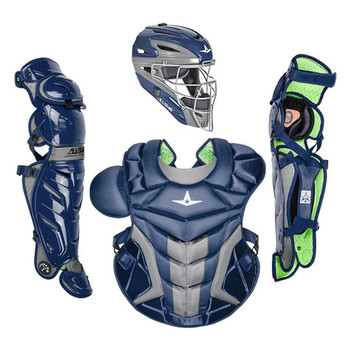 AllStar System 7 Axis Pro Senior Baseball Catcher's Kit