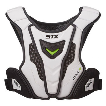 STX Cell IV Men's Lacrosse Shoulder Pad Liner - White