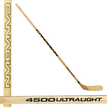Canadian 4500 Senior Wooden Hockey Stick