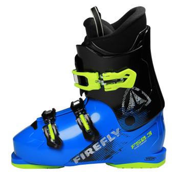 Firefly F50.3 Junior Ski Boots - Black, Blue, Green