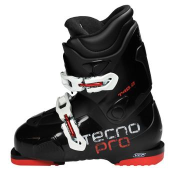 TecnoPro T40.2 Junior Ski Boots - Black, Red, White