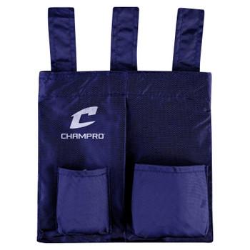 Champro 3-Loop Baseball Umpire Ball Bag